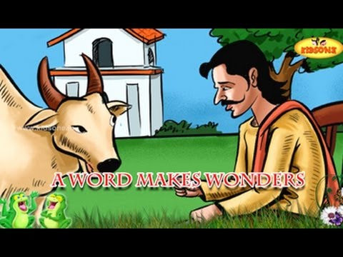 A Word Makes Wonders || Merchant and Young Bull Story || English Moral Story For Kids
