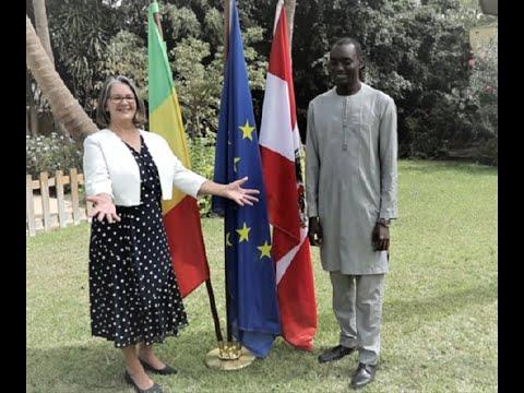 Soutien de l'UE à la Société civile : regards croisés entre S.E. Gerlinde Paschinger et Ismaël Ndao