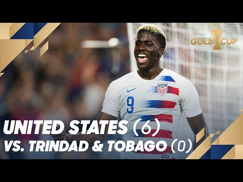 United States (6) vs. Trinidad and Tobago (0) - Gold Cup 2019