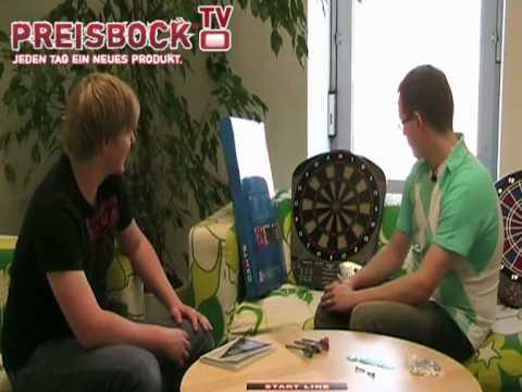Preisbock TV - Elektronische Dartboards von Carromco