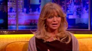 Goldie Hawn On Kate Hudsons Birth Story  The Jonathan Ross Show