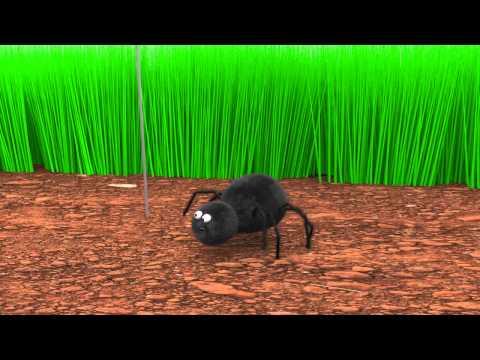 Imse vimse spindel barnvisa på svenska