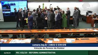 REFORMA ADMINISTRATIVA - Votação do Parecer do Relator - 22/09/2021 15:30