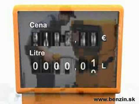 Die Formel der Übersetzung des Benzins aus den Litern in kg