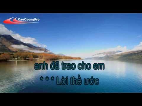 Karaoke Lời Nguyền ( Song Ca )