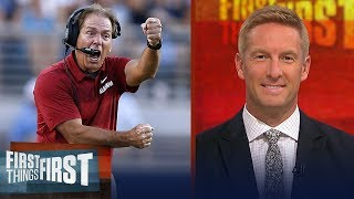 Joel Klatt on the latest CFB playoff rankings, Ohio State's struggles   CFB   FIRST THINGS FIRST