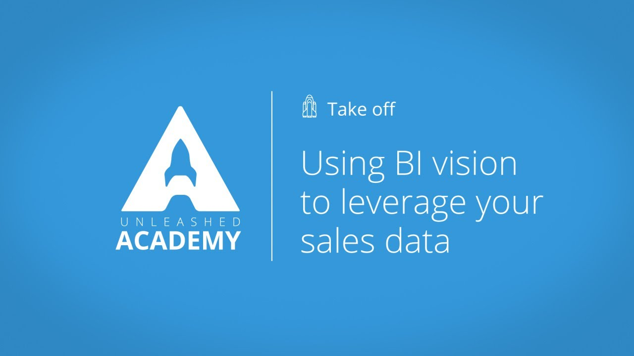 Using BI vision to leverage your sales data YouTube thumbnail image