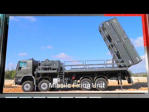 Sistema de defensa aérea Spyder de Rafael
