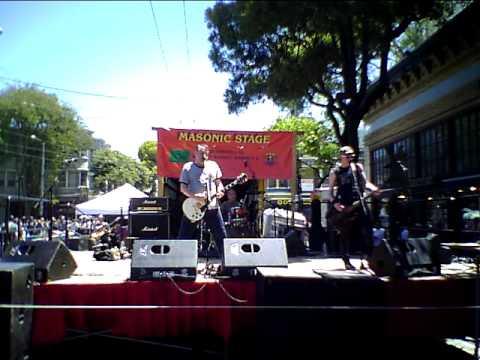 Songs For Snakes play St. Mary at The 35th Haight Street Fair 6-10-2012