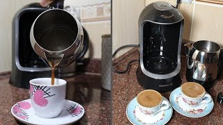 New Turkish Coffee Machine Unboxing and Test
