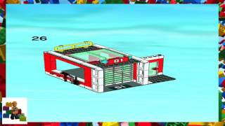 LEGO instructions - City - Fire - 7208 - Fire Station (Book 3)