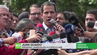 Juan Guaido donne trois jours a l