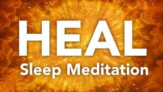 HEILEN Geführte Schlafmeditation für den heilenden Körper, Geist