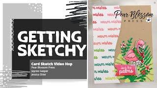 Getting Sketchy - Card Sketch Hop