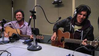 Arkells - Pullin' Punches (acoustic) live on the B-Side