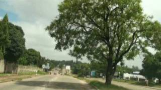 preview picture of video 'Kitwe City Centre to Parklands, Zambia'