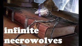 Infinite Necrowolf   Elder Scrolls Legends