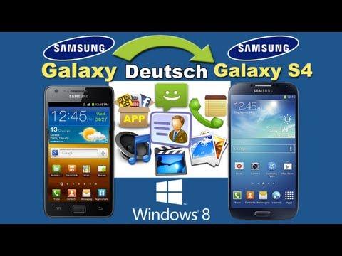 Übertragen Sie alle Dateien aus Samsung Galaxy S1/S2/S3/Note 1/Note 2 bis Galaxy S4