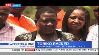 Kajiado leaders back Keriako Tobiko after his nomination as CS