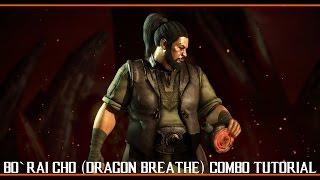 Bo` Rai Cho (DRAGON BREATHE) Combo Tutorial