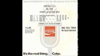 """Coca Cola and """"Country Girl"""" Dottie West - 1973"""
