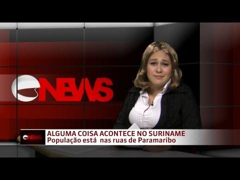 Cover News - Alguma coisa acontece no Suriname (gafe)