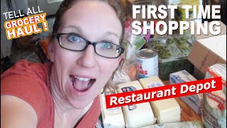 $400 for ALL OF THIS?!  Restaurant Depot GROCERY HAUL