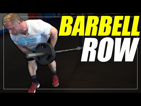Exercise Index - One Arm Barbell Row