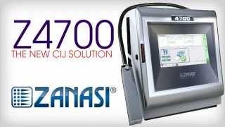 Zanasi Z4700 - The new CIJ solution