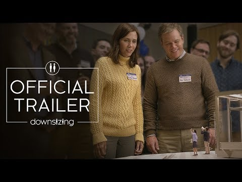 New Official Trailer for Downsizing