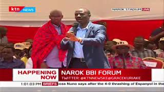 Sossion voices North Eastern Education crisis during Narok BBI Forum