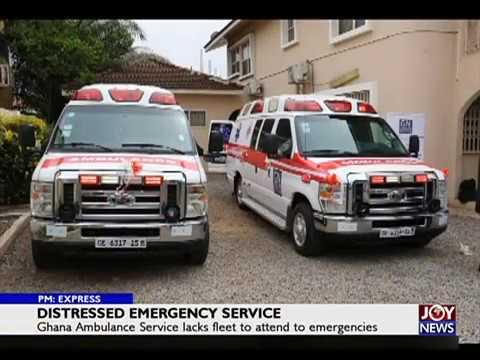 Distress Emergency Service - PM Express on JoyNews  (3-7-18)