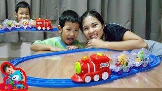 น้องบีม | รีวิวของเล่น EP.9 | รถไฟ หรรษา Toys Train