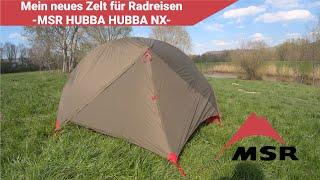 Mein neues Zelt für Radreisen -MSR Hubba Hubba NX-