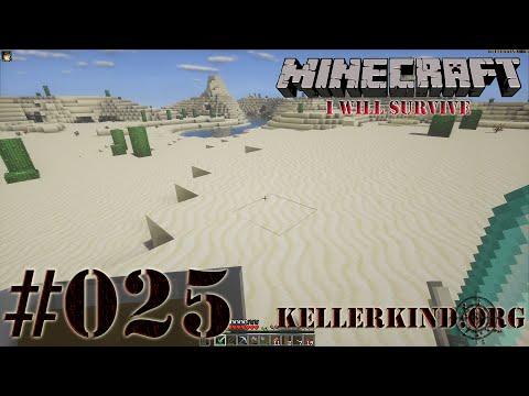 Minecraft: I will survive #025 - Sandige Gefilde ★ Let's Play Minecraft [HD|60FPS]
