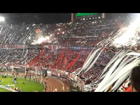 """""""River Plate vs. Atlético Nacional - Final Copa Sudamericana 2014 - Recibimiento"""" Barra: Los Borrachos del Tablón • Club: River Plate"""