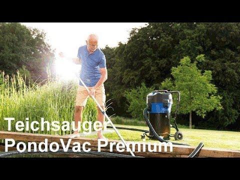 Teichsauger Poolsauger Schlammsauger - Oase Pondovac Premium