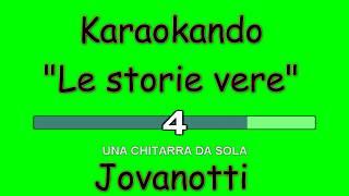 Karaoke Italiano - Le storie vere - Jovanotti ( testo )