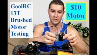 GoolRC 13T Motor Upgrade (how much faster is it than stock?)