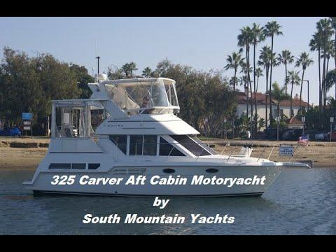 Carver 325 Aft Cabin video