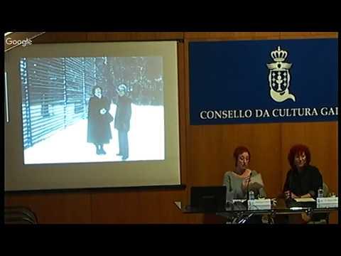 Ana Romaní Blanco conversa con Pascuala Campos de Michelena