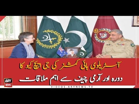 Australian High Commissioner called on Pakistan Army Chief at GHQ