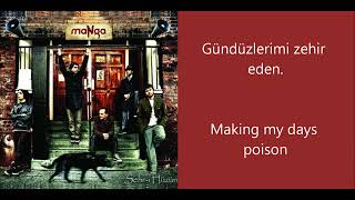 MaNga - Cevapsız Sorular Turkish/English Lyrics