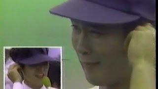 1989年高校野球 上宮 元木大介、号泣インタビュー 大阪大会決勝 上宮vs近大付属