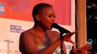 Chrisette Michele, Fragile, Rockefeller Park, NYC 6-29-11