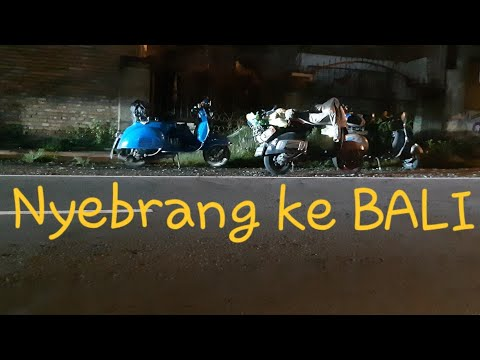 Road To Indonesia Timur, Malang - BALI | Vespa Tour Part-2
