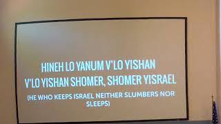 Shabbat Service - November 9, 2019