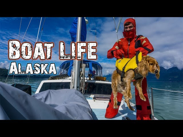 ESCAPING ALASKA ON A SAILBOAT