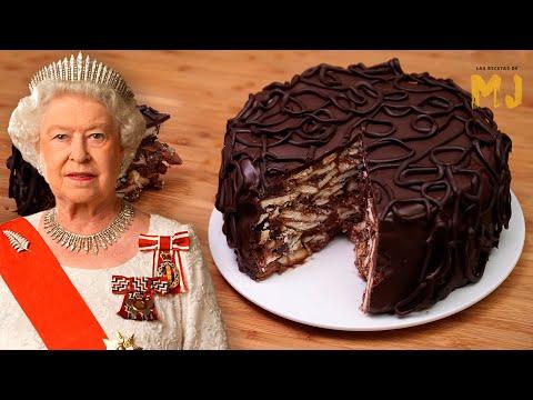 Receta Del Pastel De Chocolate Con Galletas Favorito De La Reina Isabel II