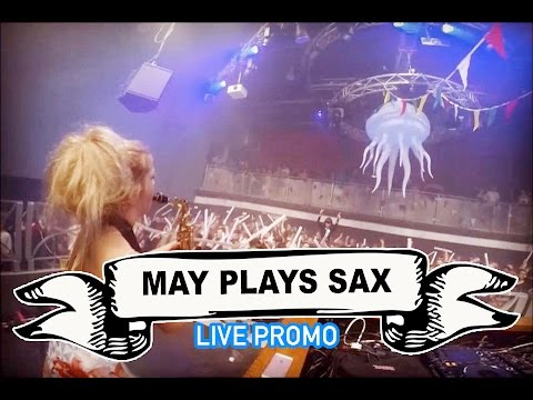 May Plays Sax Video